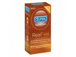 PRESERVA.DUREX SEN REAL FEEL S/LATEX 12U