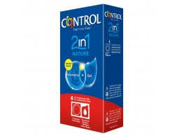 CONTROL NATURE 2 EN 1 PRESERVA+LUBRIC 6U