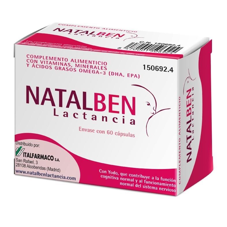 NATALBEN LACTANCIA 60 CAPSULAS